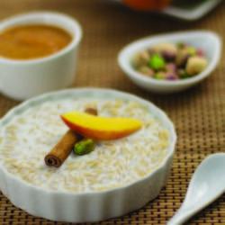 budincă de orez brun