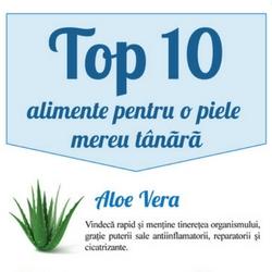 top 10 alimente pentru o piele mereu tanara