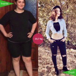 am pierdut lupta cu kilogramele