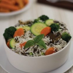 orez aromat cu legume