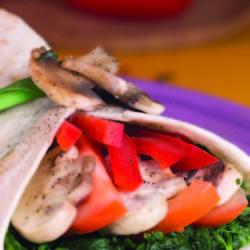 lipie umplută cu legume
